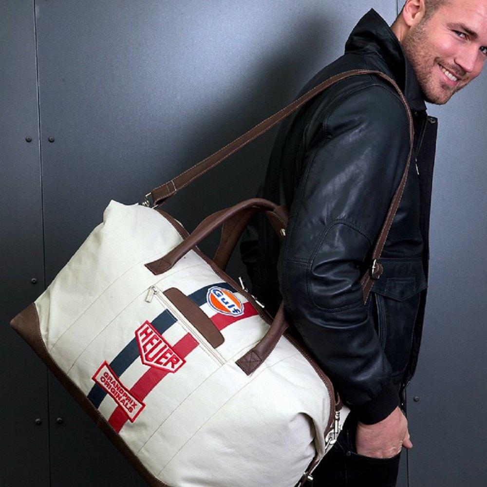grandprix originals gulf original heuer travelbag large ebay. Black Bedroom Furniture Sets. Home Design Ideas