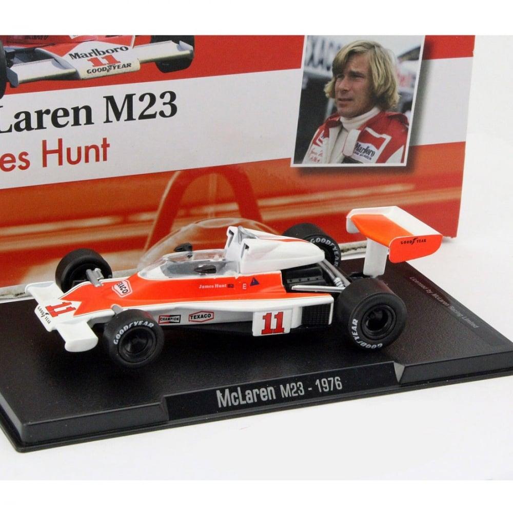 James Hunt Mclaren M23 11 World Champion Formula 1 1976