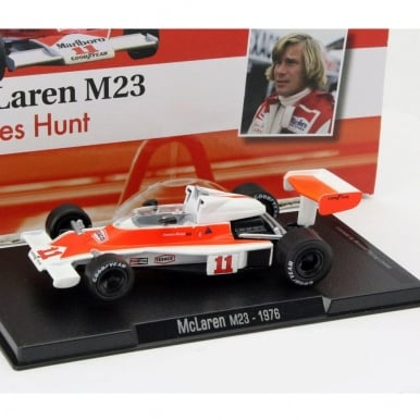 James Hunt McLaren M23 #11 World Champion Formula 1 1976