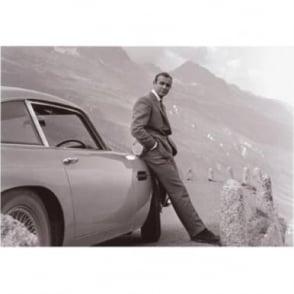 James Bond: Aston Martin Art Print 22 X 27cm