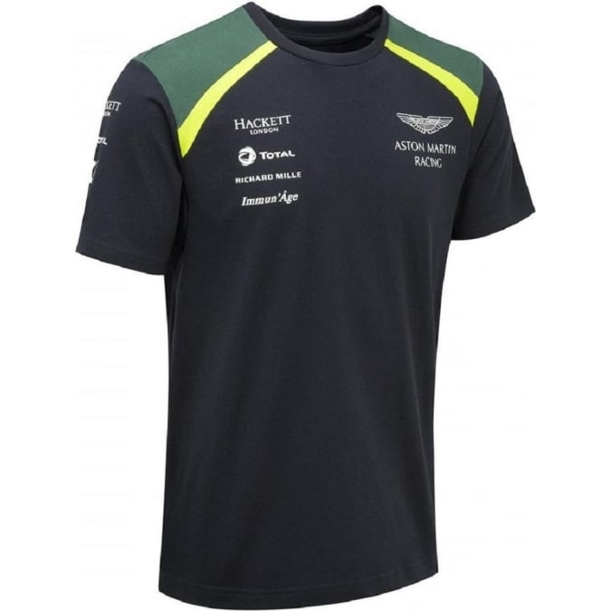 Aston Martin Racing Team Men`s T-Shirt 2017