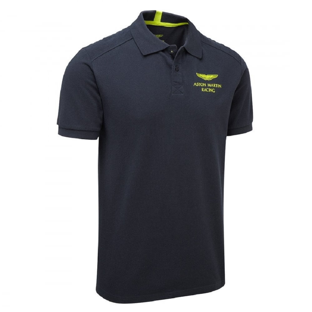 Aston Martin Racing Team Travel Poloshirt 2017