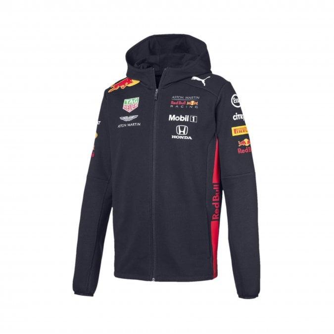 Aston Martin Red Bull Racing F1™ Mens Hooded Sweat Jacket