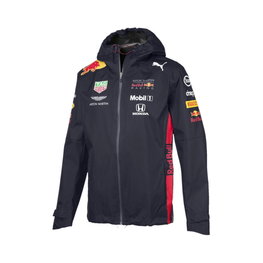Aston Martin Red Bull Racing F1™ Mens Team Rain Jacket