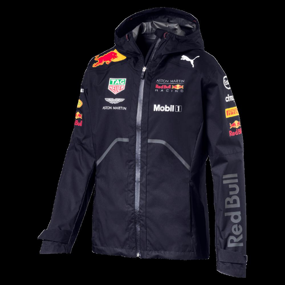 b9604a2e4fb Official Red Bull Racing Team Rain Jacket 2018