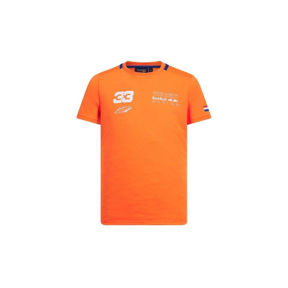 Ongebruikt Aston Martin Red Bull Racing F1™ Max Verstappen Orange 33 T-Shirt DC-84