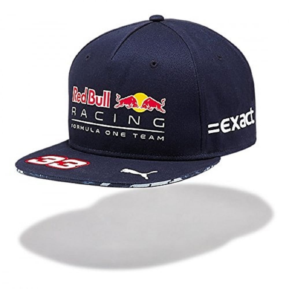29f8afbd9bc Official Red Bull Racing Max Verstappen Cap 2017