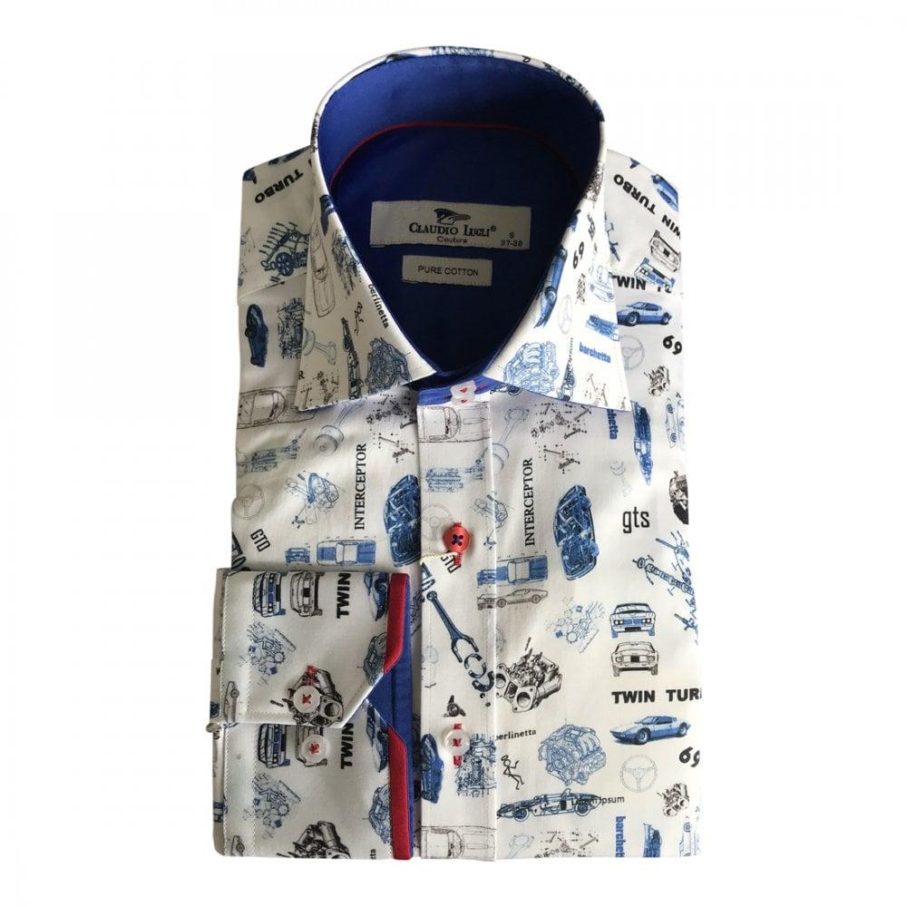 0830389dcf89a Claudio Lugli 195mph Car Parts Shirt
