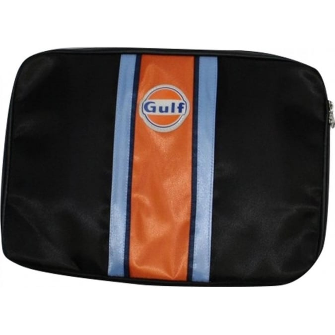 "Continental Racing Gulf Collection 13"" Laptop Protection Case - Orange Stripe"