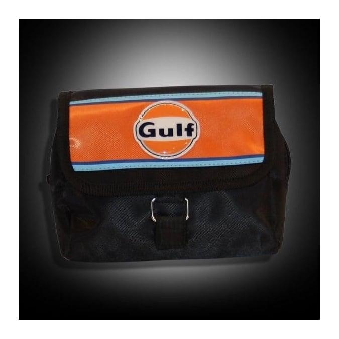 Continental Racing Gulf Collection Cosmetic Bag - Orange Stripe