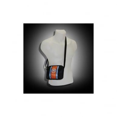 Small Pouch Bag - Orange Stripe