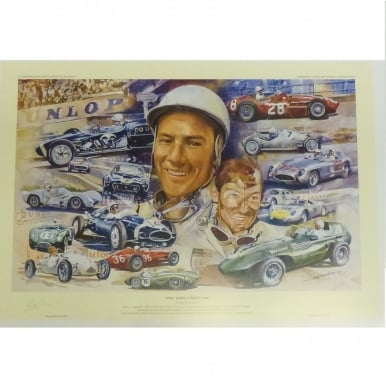 Still Going Strong at 80 Stirling Moss print