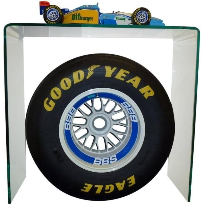 Danhausen Michael Schumacher Benetton B195 1:8 scale model Rear BBS rim & Goodyear Slick Centrepiece