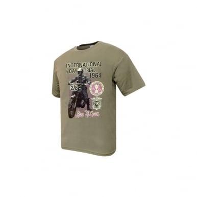Steve McQueen T-Shirt (International 6 Day Trial 1964)
