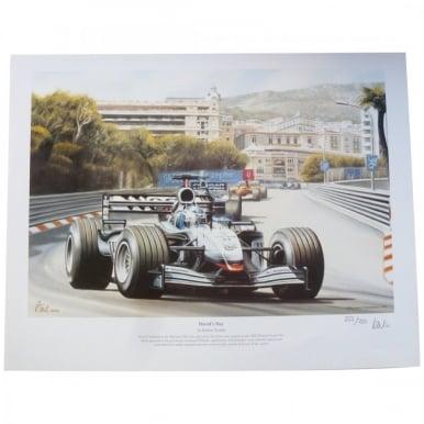 David's Day by Robert Tomlin David Coulthard McLaren
