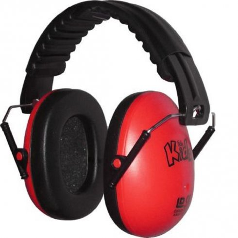 Edz Kidz Kidz Ear Defenders Red