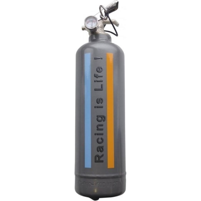 Fire Design Racing Is Life Fire Extinguisher