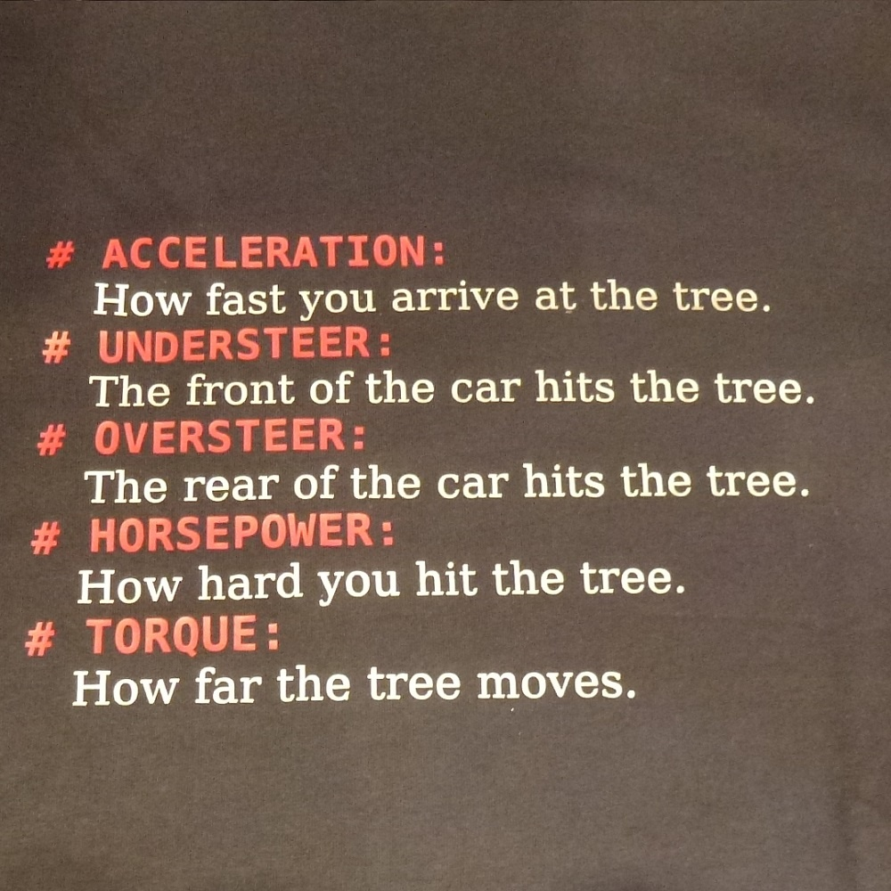 Acceleration t Shirt Navy Blue