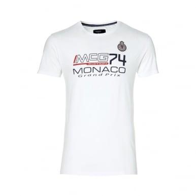 GP Monaco Kids Logo T-Shirt White