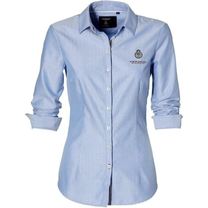 Grand Prix Monaco Racing by McGregor GP Monaco Ladies Shirt Light Blue