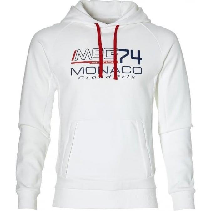 Grand Prix Monaco Racing by McGregor GP Monaco Mens Hoodie White