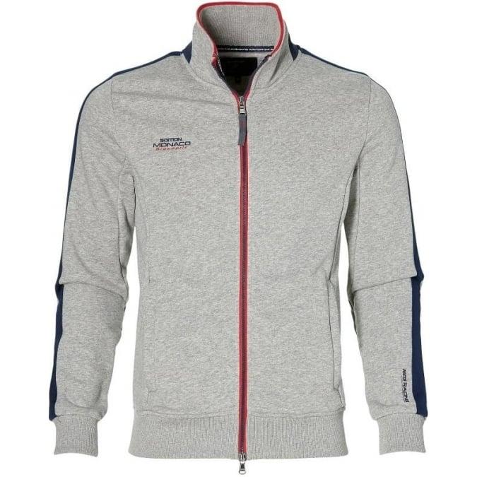 Grand Prix Monaco Racing by McGregor GP Monaco Mens Zip Sweatshirt Grey