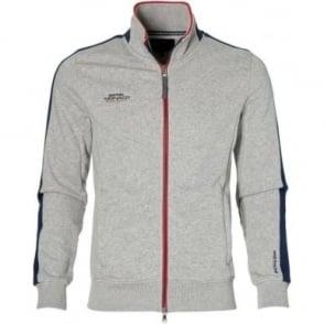 GP Monaco Mens Zip Sweatshirt Grey