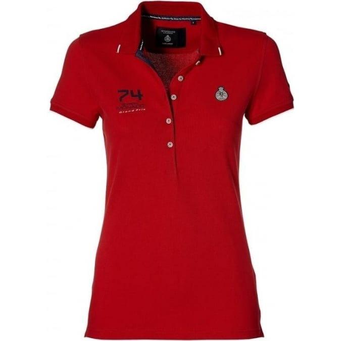 Grand Prix Monaco Racing by McGregor GP Monaco official Ladies Polo Red