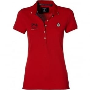 GP Monaco official Ladies Polo Red