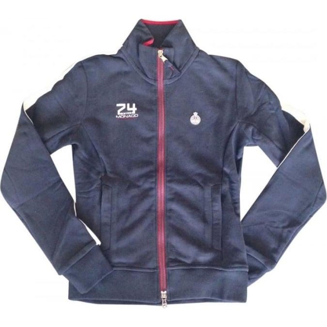 Grand Prix Monaco Racing by McGregor GP Monaco Zip Sweatshirt Ladies Navy Blue