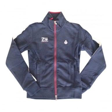 GP Monaco Zip Sweatshirt Ladies Navy Blue