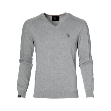 Mens Pullover GP Monaco Grey