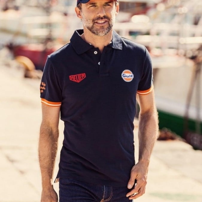 Grandprix Originals El GPO Polo Navy Blue
