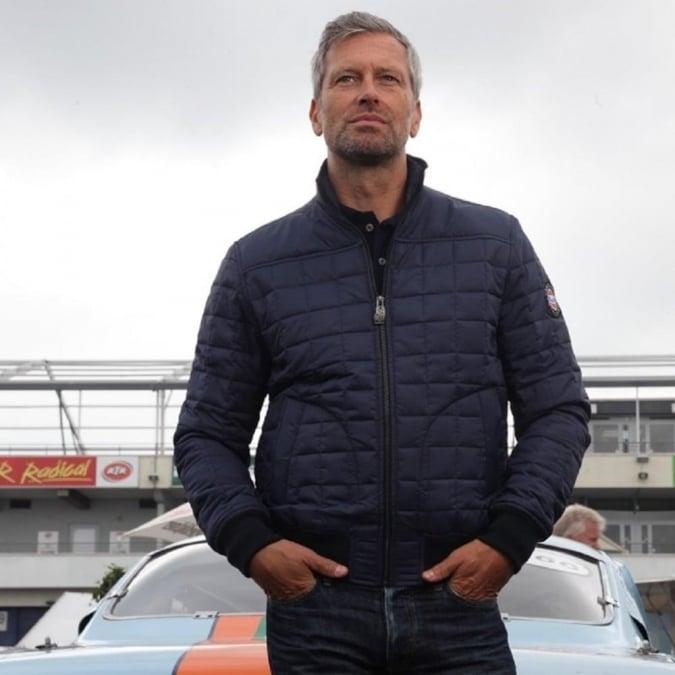 Grandprix Originals Formula Blouson Jacket Blue