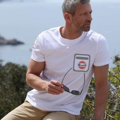 Gulf Hi-Tech T-Shirt White