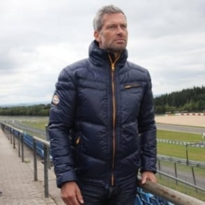 Gulf Luxury Down Jacket Blue