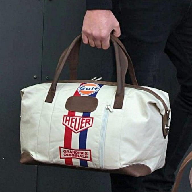 Grandprix Originals Gulf Original Heuer Travelbag Small