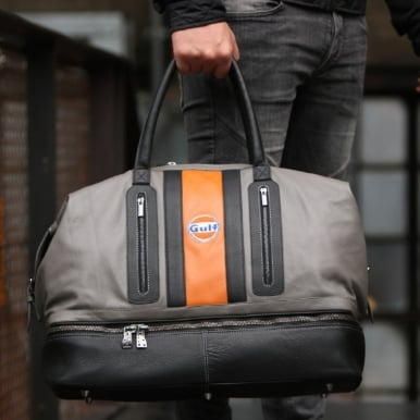 Gulf Racing Sportbag Orange and Grey