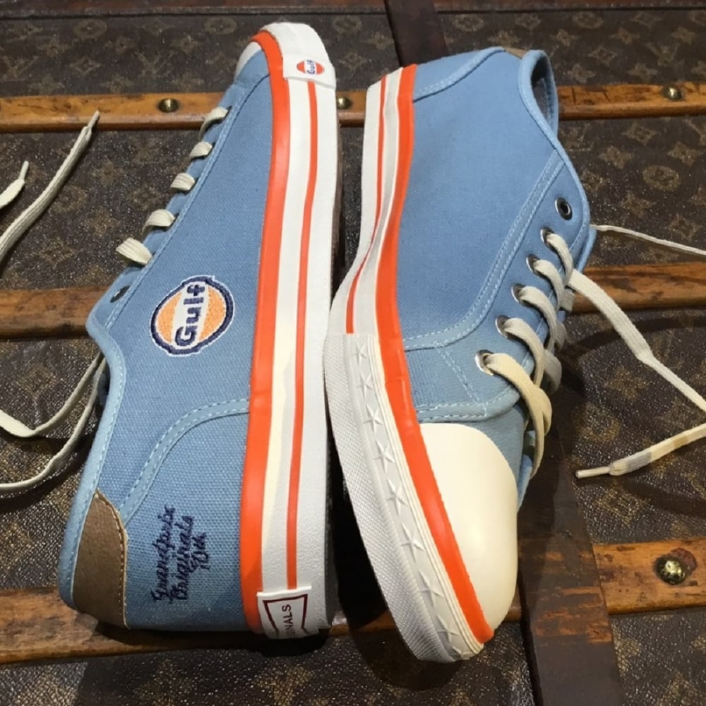 gulf sneakers kids gulf blue buy at 195mph. Black Bedroom Furniture Sets. Home Design Ideas