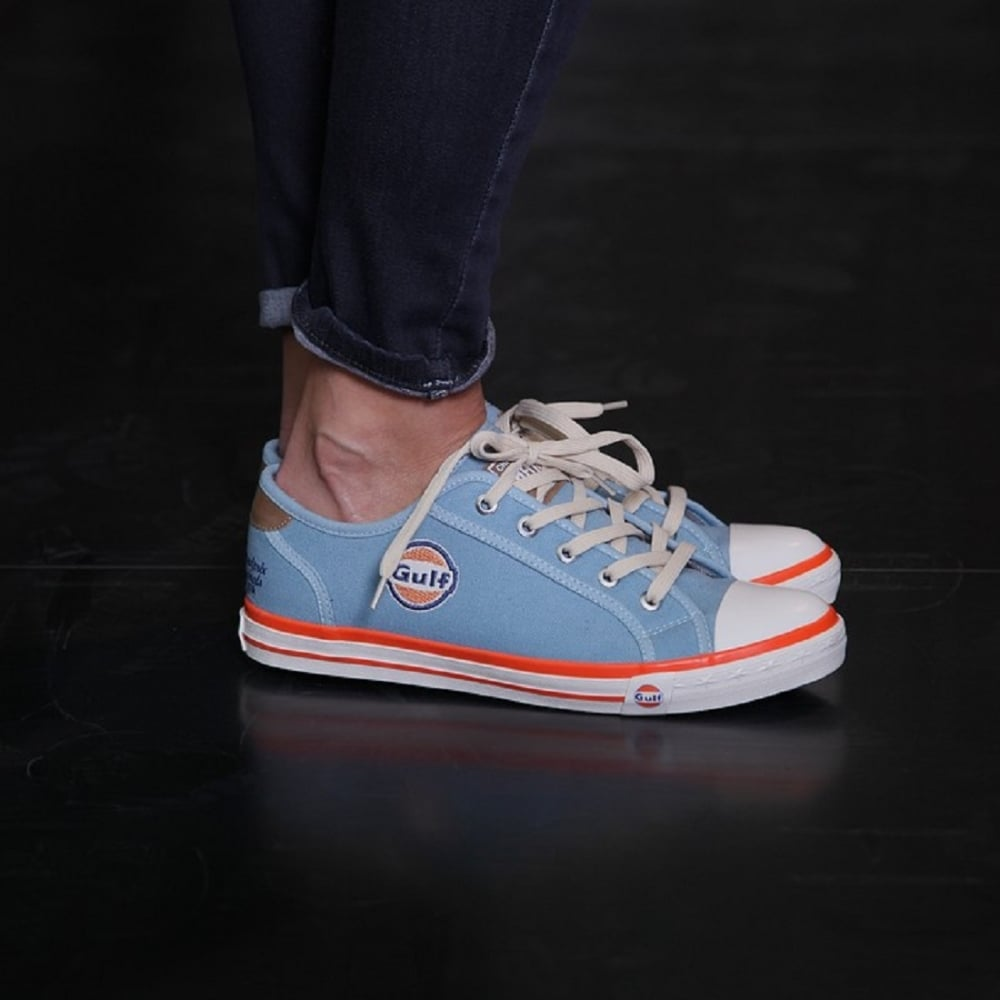 gulf sneakers ladies gulf blue buy at 195mph. Black Bedroom Furniture Sets. Home Design Ideas