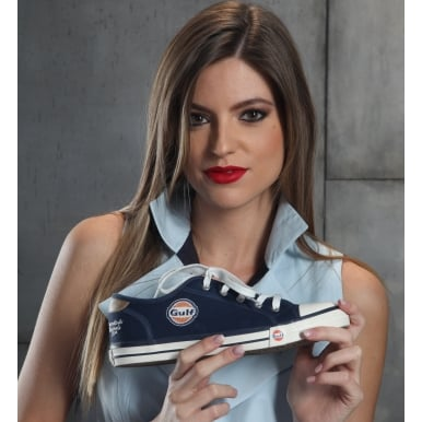 Gulf Sneakers Ladies Navy Blue