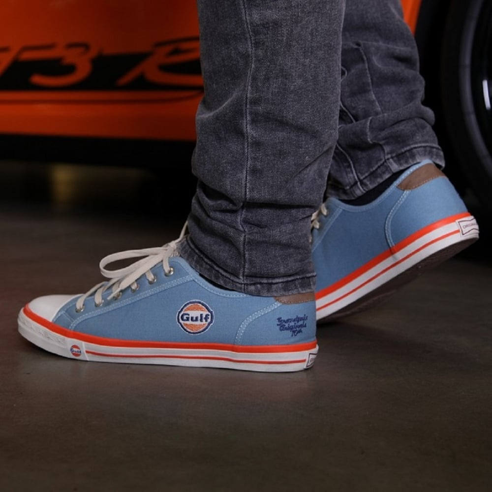 gulf sneakers men gulf blue buy at 195mph. Black Bedroom Furniture Sets. Home Design Ideas