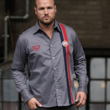Gulf Works Shirt Platinum