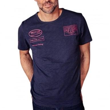 Heuer Racing T-Shirt Navy Blue