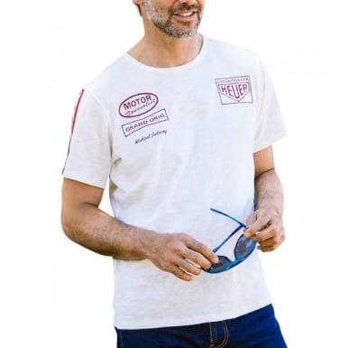 Heuer Racing T-Shirt Offwhite
