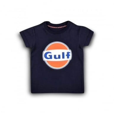 Kid Gulf Dry T-Shirt Navy Blue