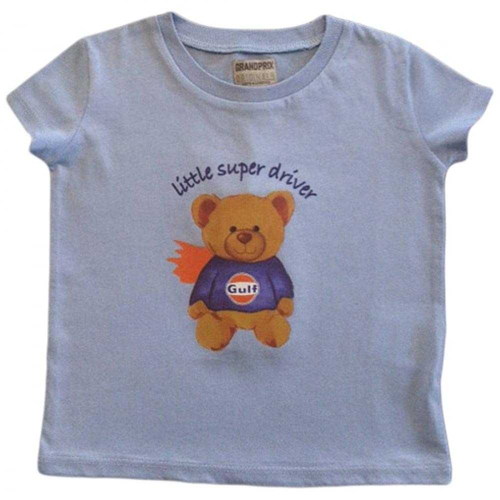 385617e970f1 Grandprix Originals Kids Gulf bear T-Shirt Blue - Kids from 195 MPH UK