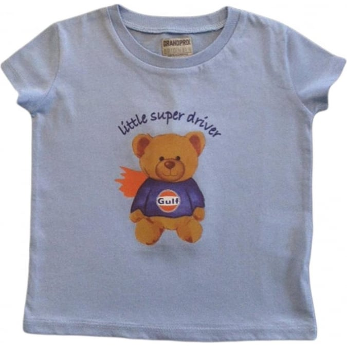Grandprix Originals Kids Gulf bear T-Shirt Blue