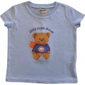 Kids Gulf bear T-Shirt Blue