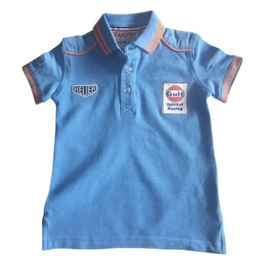 Kids Speed Polo Cobalt